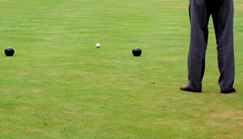 Crown green bowls funding
